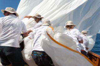 Onboard Naema Superyacht Cup Palma 2016