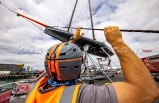 Shore Team crane launch INEOS