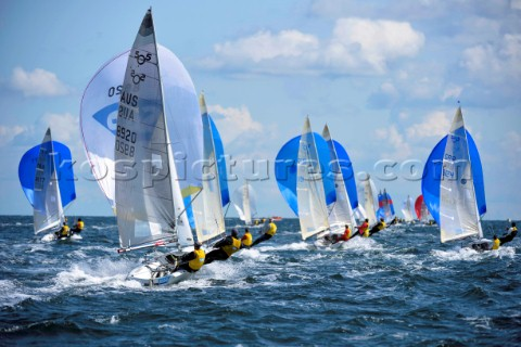 SAP 505 Worlds 2014  Kiel in Germany