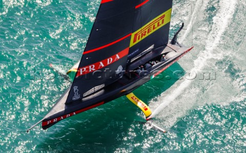200221  Auckland NZL36th Americas Cup presented by PradaPRADA Cup 2021  Final Day 3Luna Rossa Prada