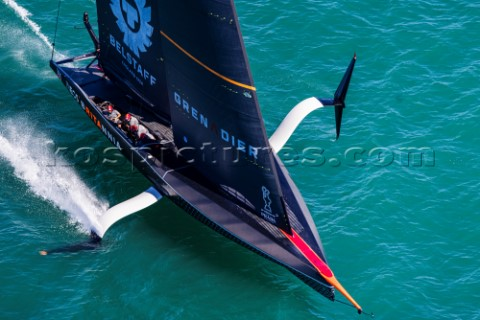 200221  Auckland NZL36th Americas Cup presented by PradaPRADA Cup 2021  Final Day 3Ineos Team UK