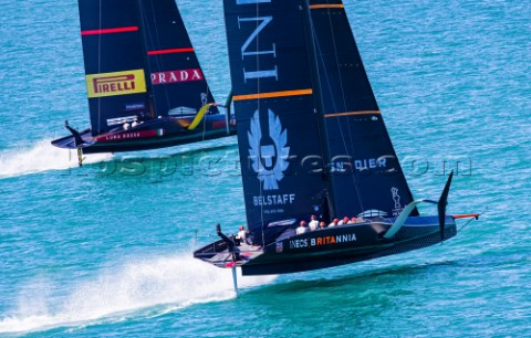 200221  Auckland NZL36th Americas Cup presented by PradaPRADA Cup 2021  Final Day 3Ineos Team UK Lun